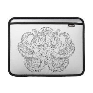 Ethnic Patterned Octopus MacBook Air Sleeves