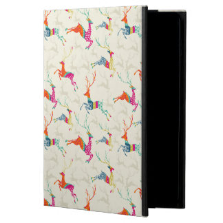 Ethnic Patterned Reindeer Cover For iPad Air