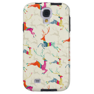 Ethnic Patterned Reindeer Galaxy S4 Case