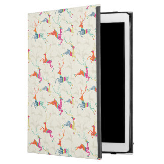"Ethnic Patterned Reindeer iPad Pro 12.9"" Case"