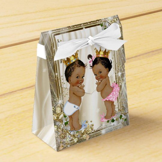 Ethnic Prince Princess Baby Shower Favour Box
