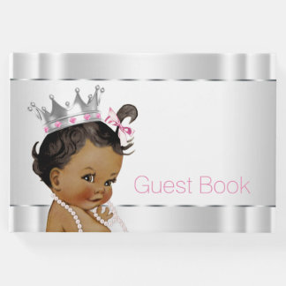Ethnic Princess Baby Shower Guest Book