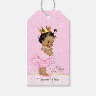 Ethnic Princess Ballerina Pink Tutu Baby Shower