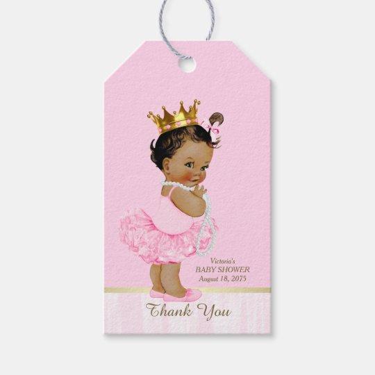 Ethnic Princess Ballerina Pink Tutu Baby Shower Gift