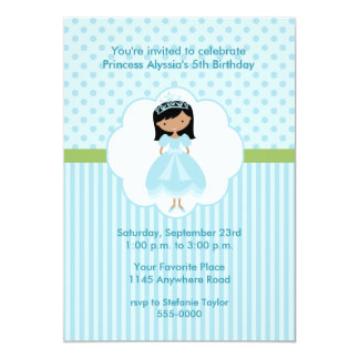 Ethnic Princess Birthday Party Invitation