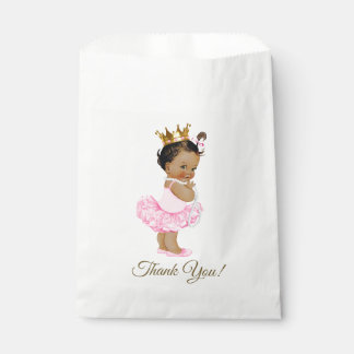 Ethnic Princess Tutu Ballerina Pearls Baby Shower Favour Bags