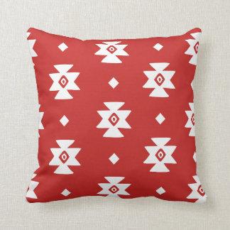 Ethnic Slavic native ornament boho bulgarian kilim Cushion