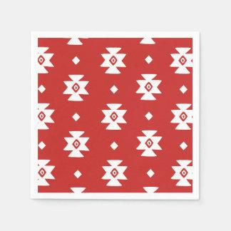 Ethnic Slavic native ornament boho bulgarian kilim Paper Napkin