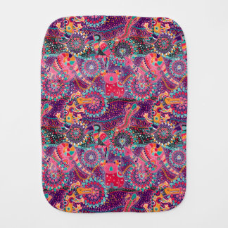 Ethnic Style Animal Pattern Burp Cloth