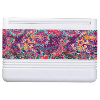 Ethnic Style Animal Pattern Igloo Cooler