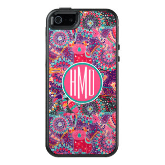 Ethnic Style Animal Pattern | Monogram OtterBox iPhone 5/5s/SE Case