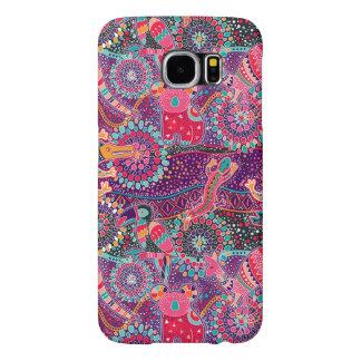 Ethnic Style Animal Pattern Samsung Galaxy S6 Cases