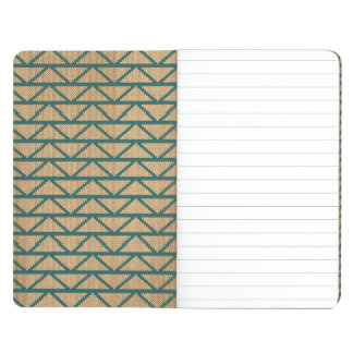 Ethnic Style Knitted Pattern Journal