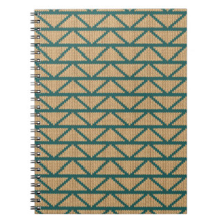 Ethnic Style Knitted Pattern Notebooks