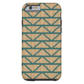 Ethnic Style Knitted Pattern Tough iPhone 6 Case
