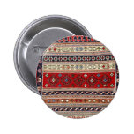 Ethnic Tapestry Print Buttons