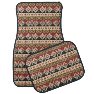 ethnic tribal african pattern car mat