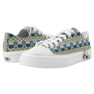 ethnic tribal african pattern low tops