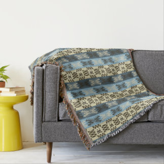 ethnic tribal african pattern throw blanket