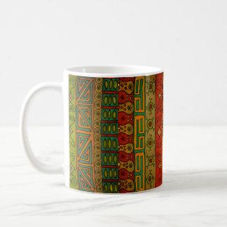 Ethnic Tribal Textile Design Coffee Mug