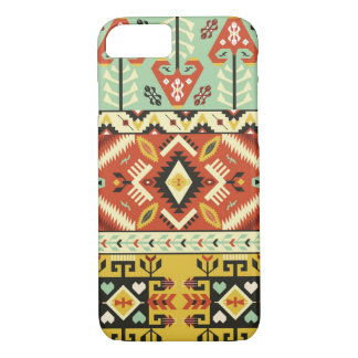 Ethnic vector pattern in mexican style iPhone 7 case