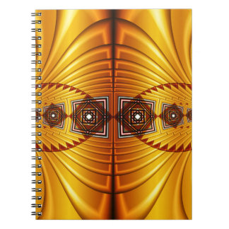 Ethno Look created by Tutti Spiral Notebook