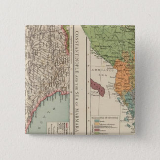 Ethnog Balkan Peninsula, Constantinople 15 Cm Square Badge