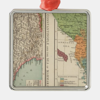 Ethnog Balkan Peninsula, Constantinople Christmas Ornament