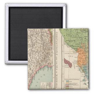 Ethnog Balkan Peninsula, Constantinople Magnet