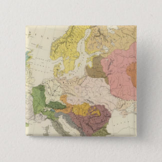 Ethnographic, Europe 15 Cm Square Badge