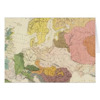 Ethnographic, Europe Card