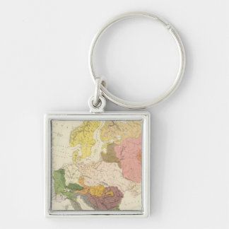 Ethnographic, Europe Key Ring