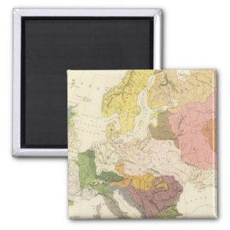 Ethnographic, Europe Magnet