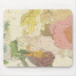 Ethnographic, Europe Mouse Mat