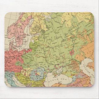 Ethnographic Europe Mouse Mat