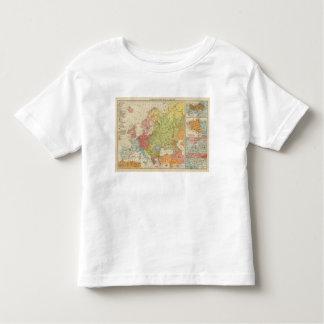 Ethnographic Europe Toddler T-Shirt