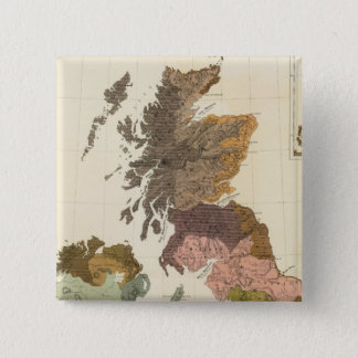 Ethnographic, Gt Brit, Ireland 15 Cm Square Badge