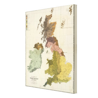 Ethnographic, Gt Brit, Ireland Canvas Print