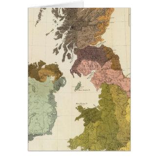 Ethnographic, Gt Brit, Ireland Card