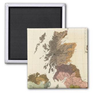 Ethnographic, Gt Brit, Ireland Magnet