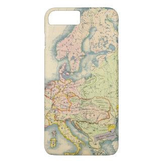 Ethnographic map of Europe iPhone 8 Plus/7 Plus Case