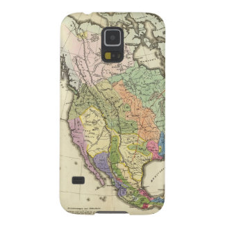 Ethnographic Map of North America Galaxy S5 Cover