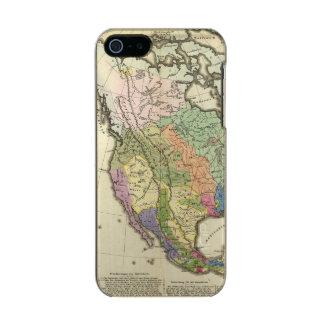 Ethnographic Map of North America Incipio Feather® Shine iPhone 5 Case