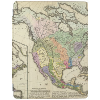 Ethnographic Map of North America iPad Cover