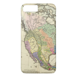 Ethnographic Map of North America iPhone 8 Plus/7 Plus Case