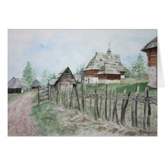 Ethnographic museum, Sirogojno Card
