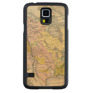 Ethnographs of North America Carved Maple Galaxy S5 Case