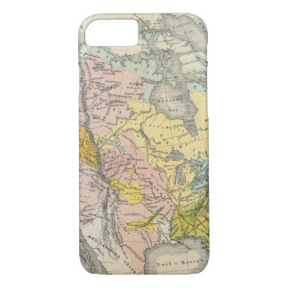 Ethnographs of North America iPhone 8/7 Case