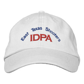 ETIDPA Adjustable Cap White Embroidered Hat