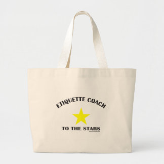 ETIQUETTE COACH TO THE STARS TOTE BAG